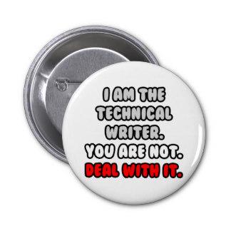 I'm the tech writer